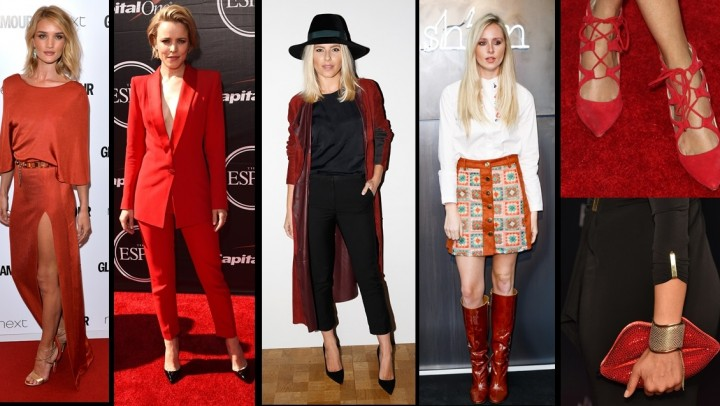 Trendfarbe Rot 2015 ©Getty Images